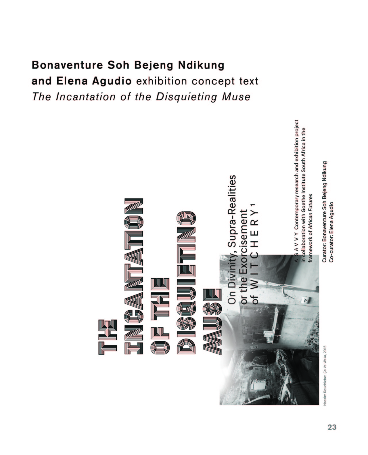 Membrane d14 SESSIONS #6 with Bonventure Ndikung, Curatorial Advisor d14