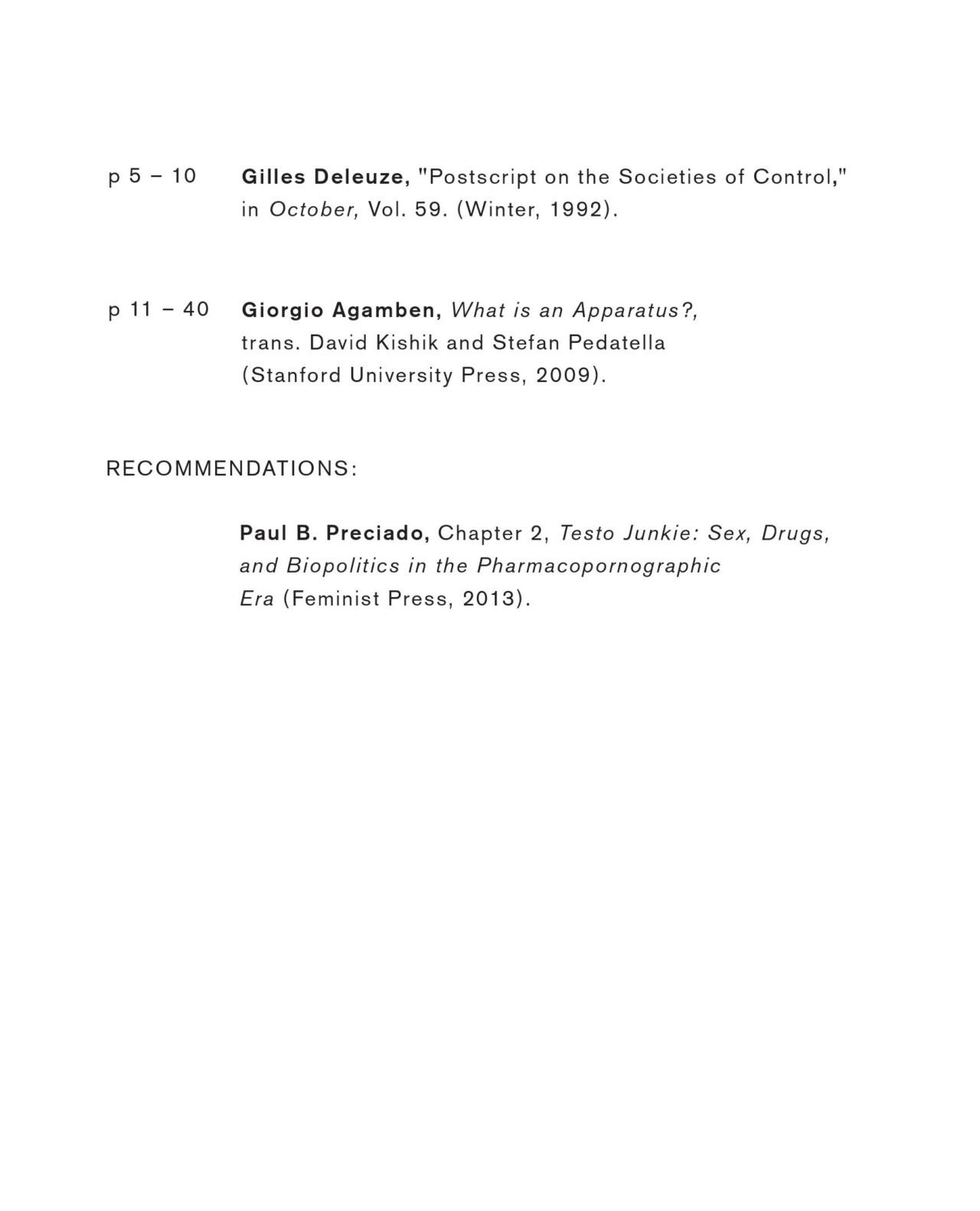 Membrane d14 SESSIONS #8, with Paul B. Preciado, Curator of Public Programs d14